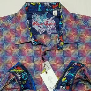 Robert Graham Salt Pan Wine Long Sleeve Shirt
